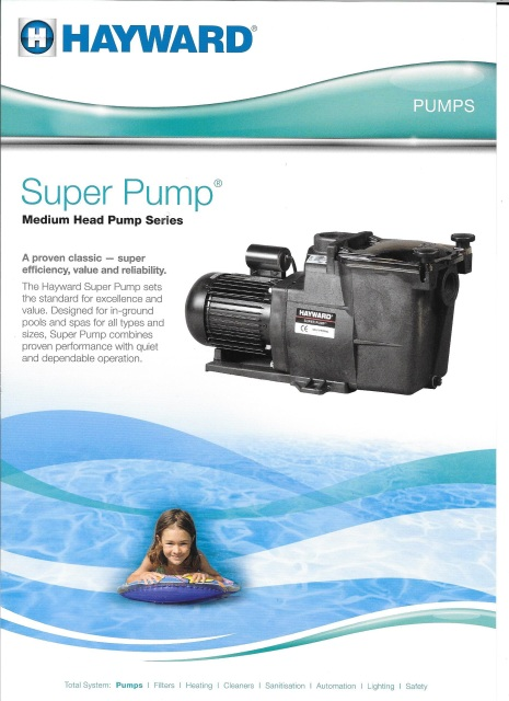 Hayward super pump for Hayward super pump 1 5 hp motor